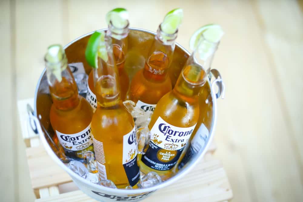 corona lime beer