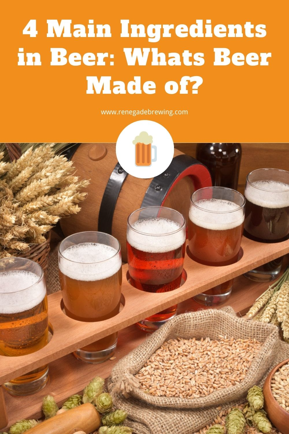 4 Main Ingredients in Beer Whats Beer Made of