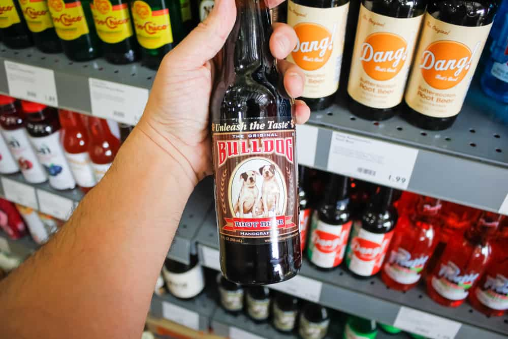 A developing market root beer