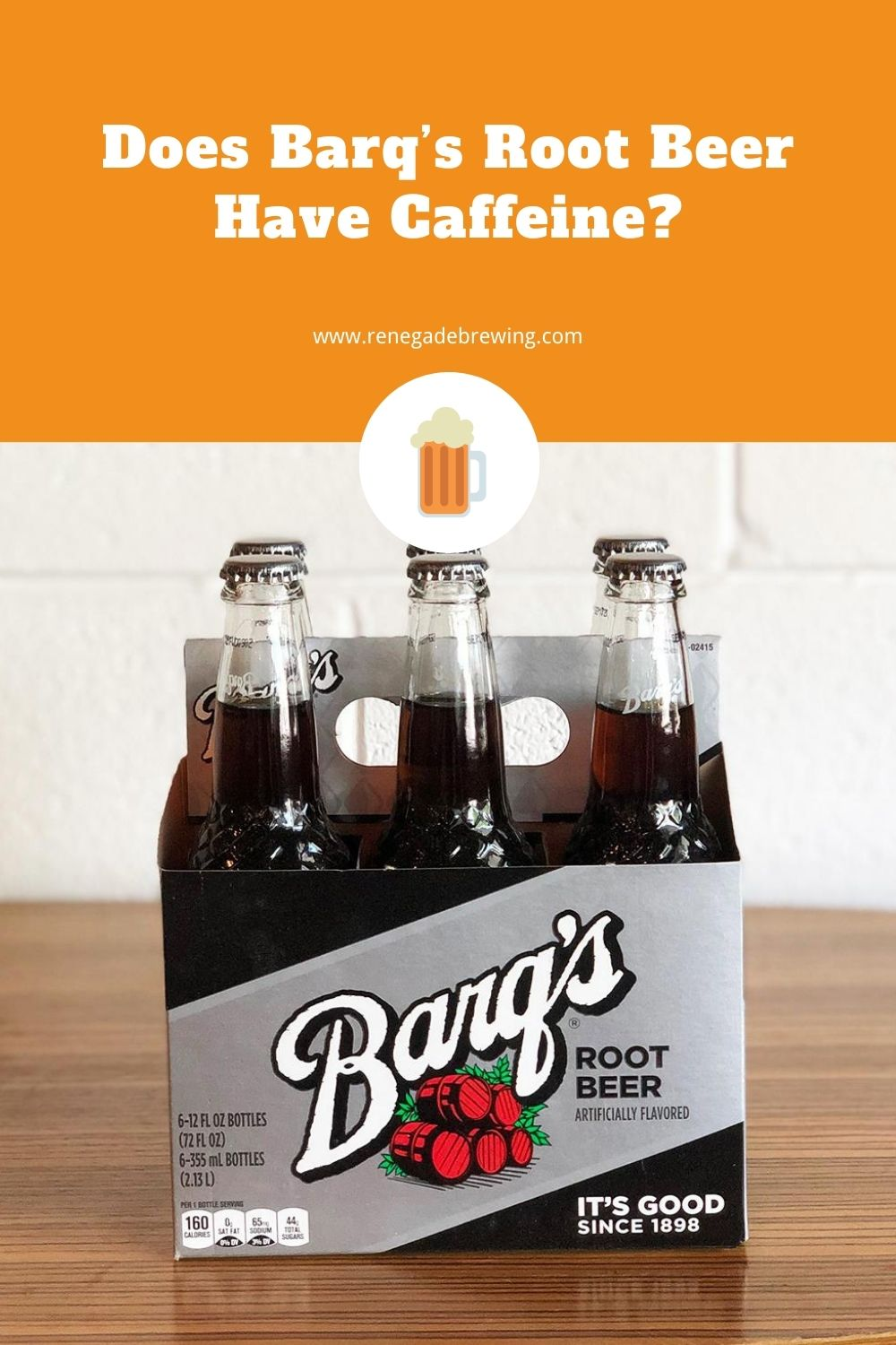 Does Barq's Root Beer Have Caffeine 1