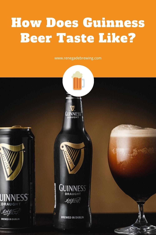 How Does Guinness Beer Taste Like 2