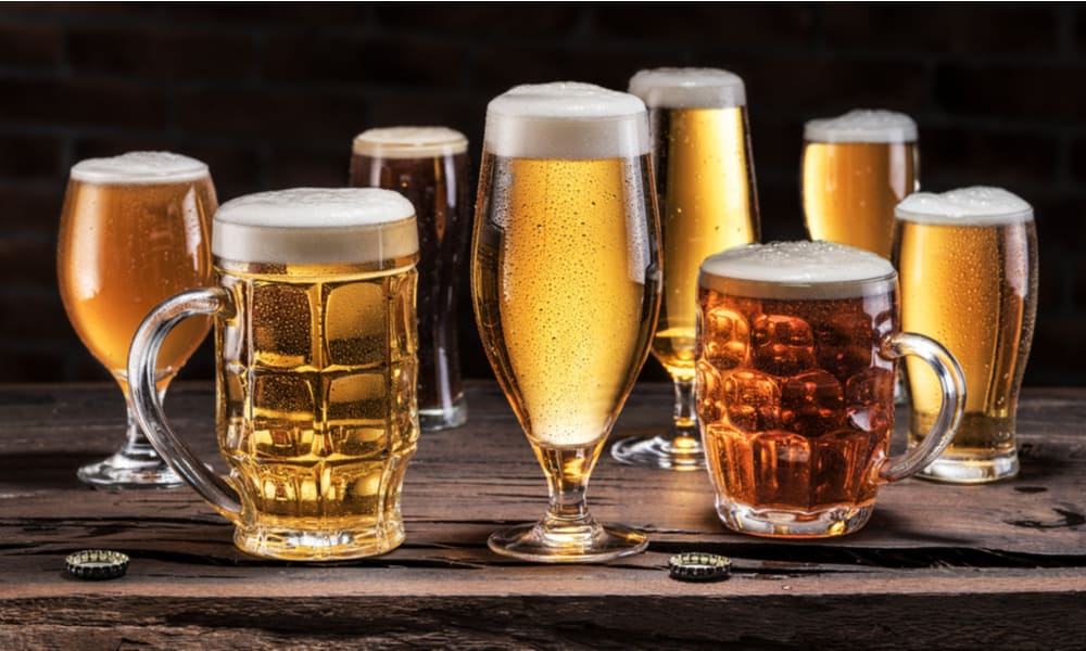 Types of Lagers Color, APV, and Taste