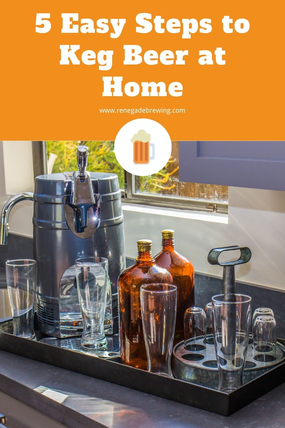 5 Easy Steps to Keg Beer at Home 1