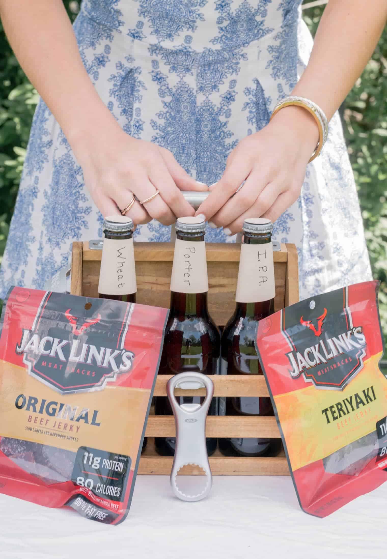 A Simple DIY Craft Beer Gift Basket