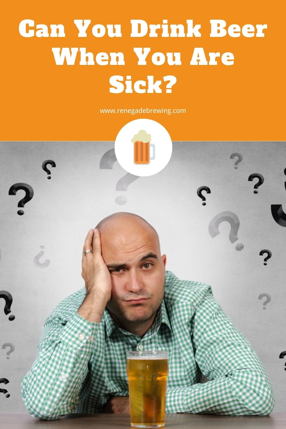 Can You Drink Beer When You Are Sick 1