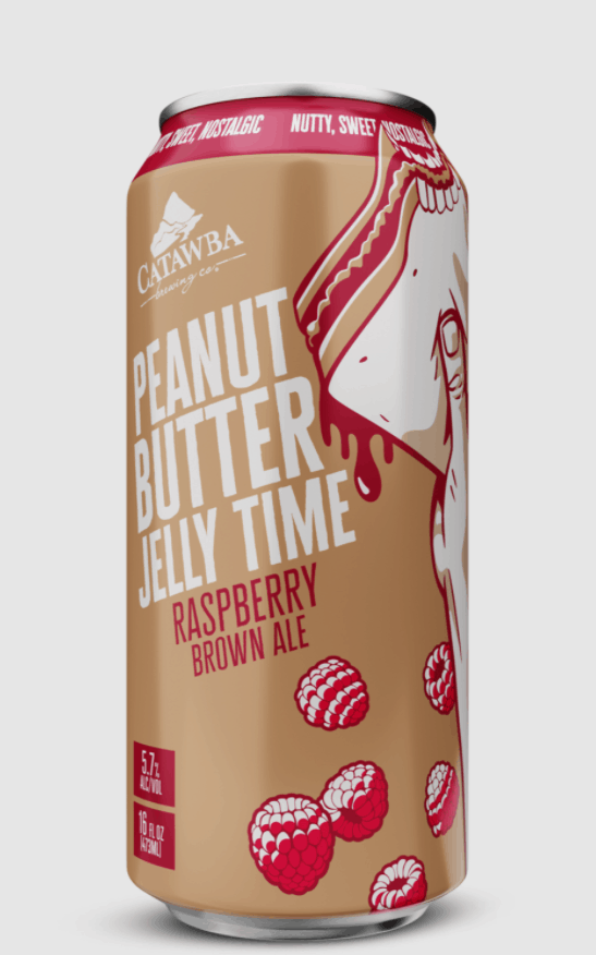 Catawba Brewing Peanut Butter Jelly Beer