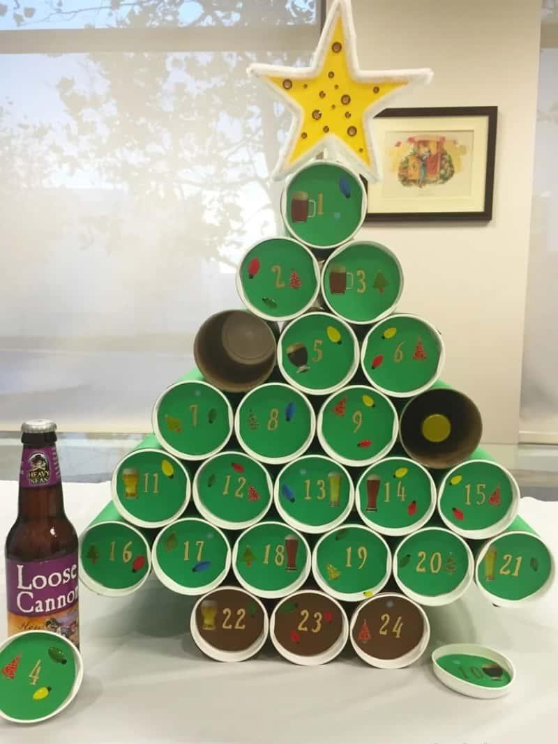 DIY Craft Beer Advent Calendar 1