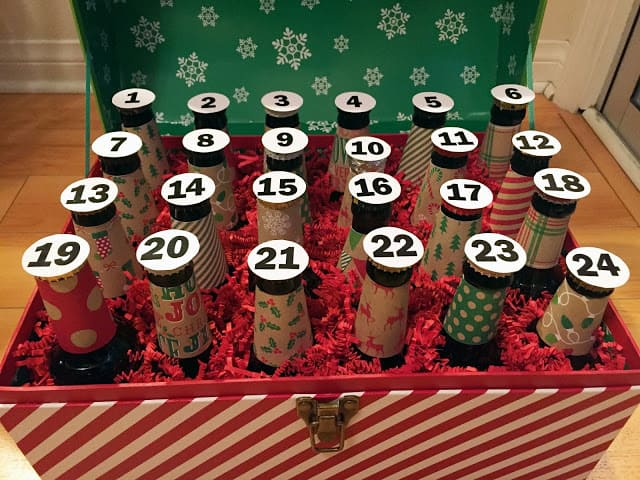 [Gifts for the Husband] DIY Beer Advent Calendar