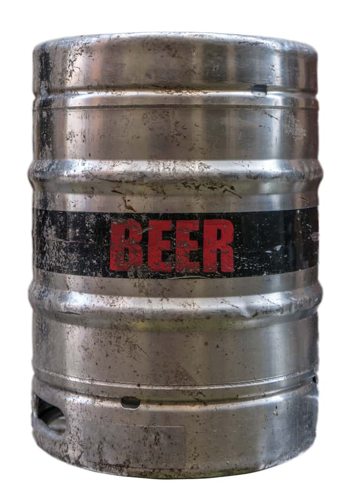 Half(1 2) barrel keg