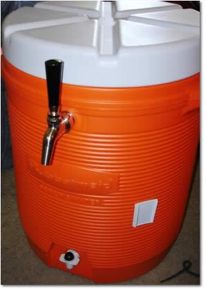 How to Make a Portable 3 Gallon Beer Dispensing Cooler