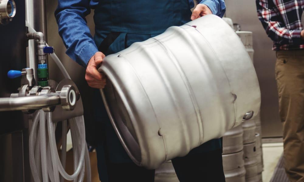 Quarter(1 4) barrel and slim keg