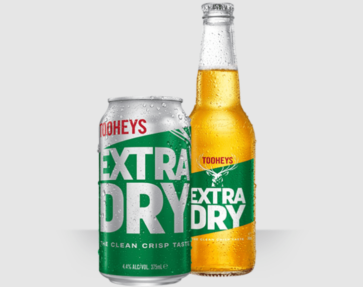 Super and Extra Dry Beer