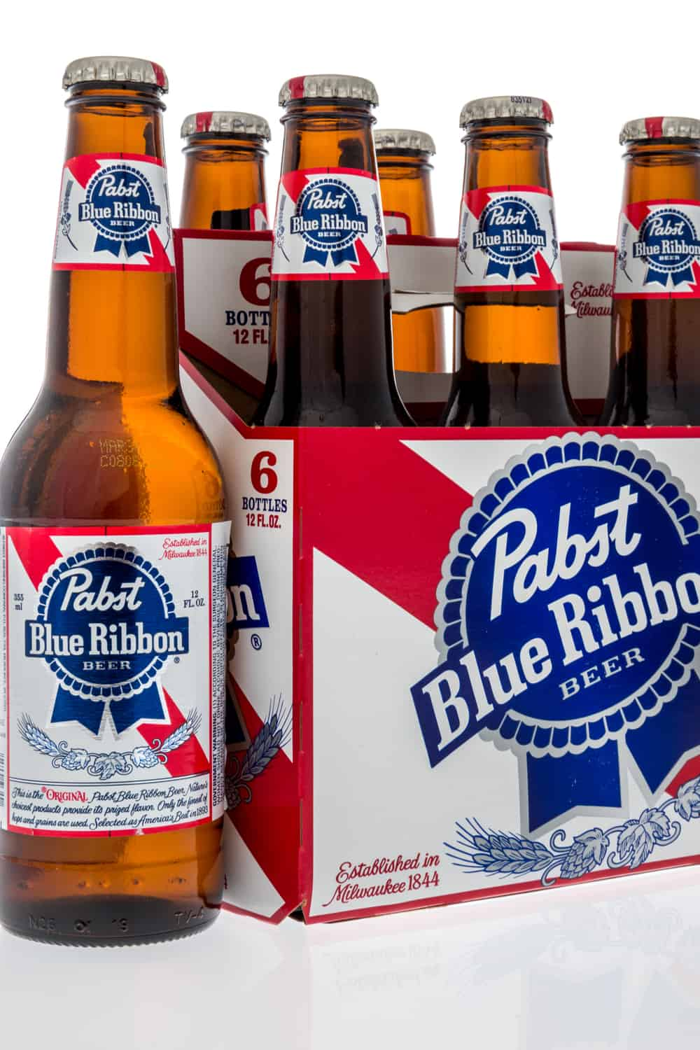 The alcohol content in PBR