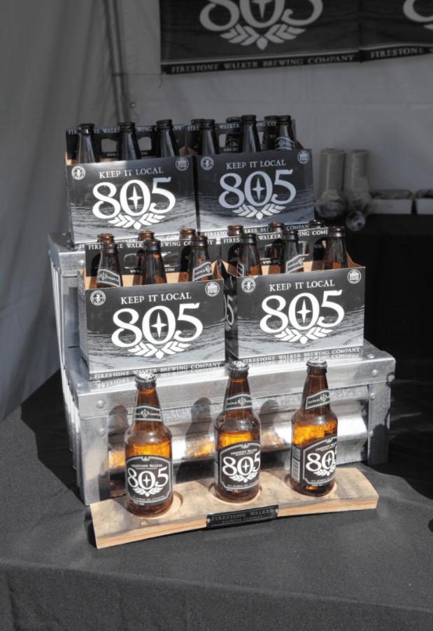 The origin of 805 beer