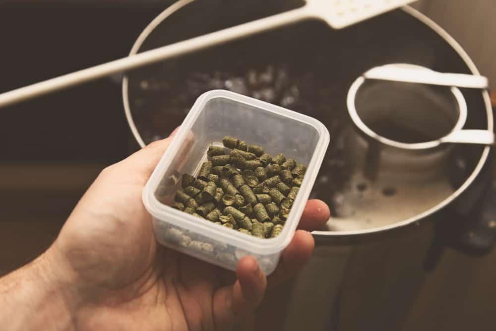 add hops