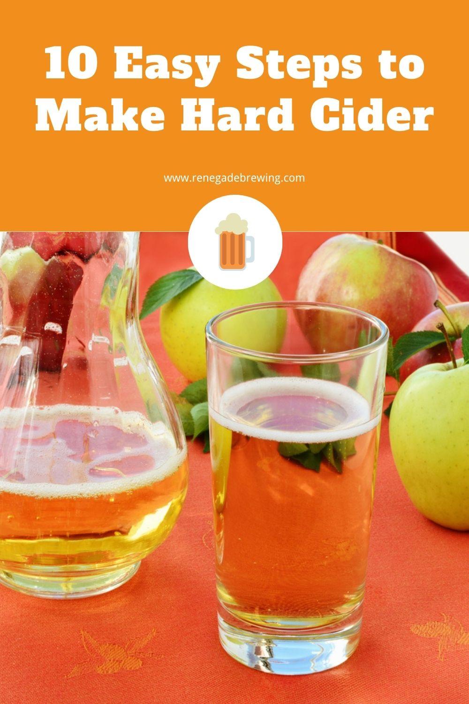 10 Easy Steps to Make Hard Cider 1