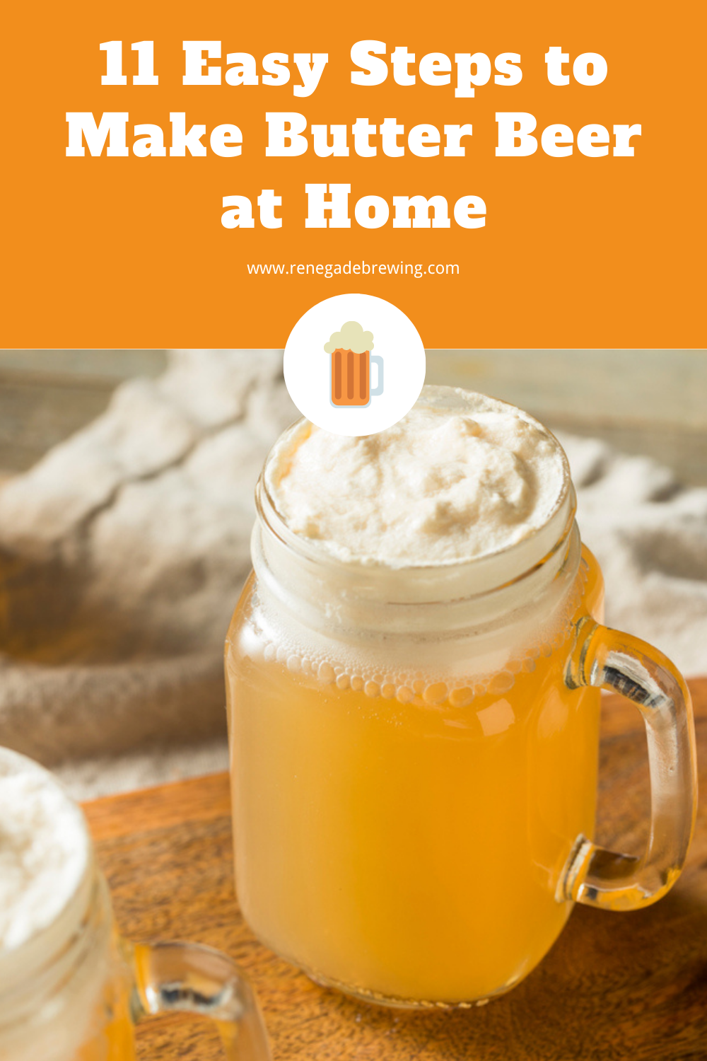 11 Easy Steps to Make Butter Beer at Home 2
