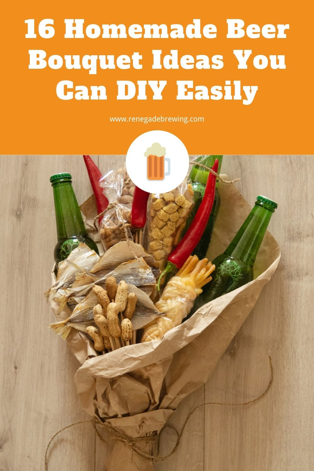 16 Homemade Beer Bouquet Ideas You Can DIY Easily 2