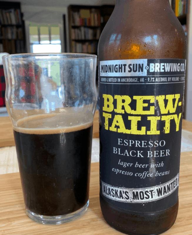 BREWtality - Espresso Black Bier
