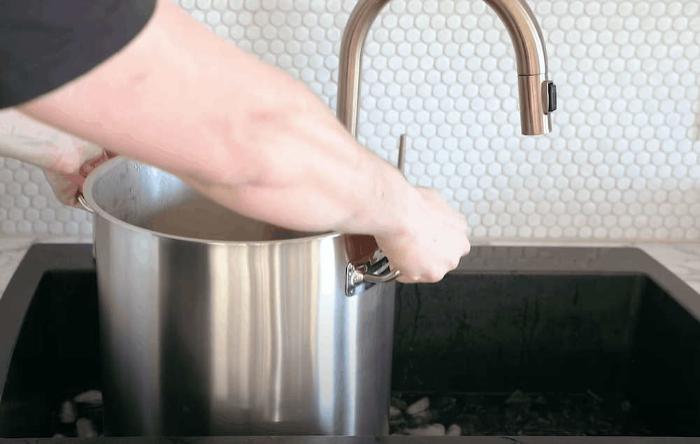 Cool and transfer the wort