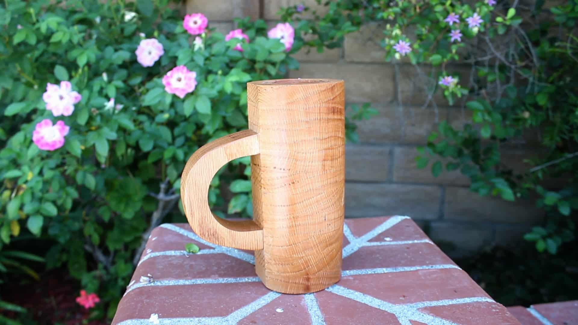 DIY Wooden Beer Mug (No Lathe)