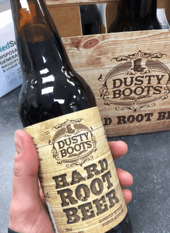 Dusty Boot Hard Root Beer