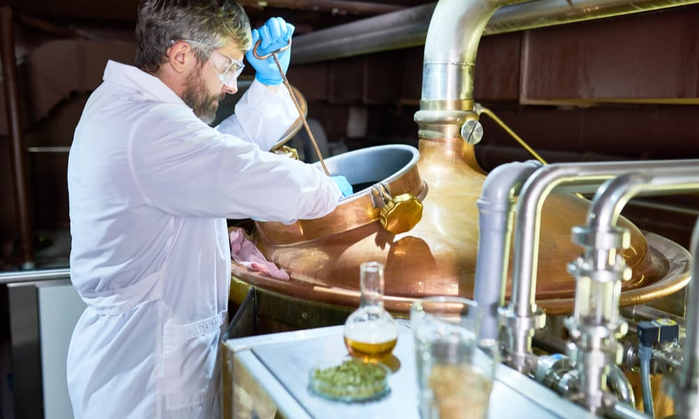 Factors that influence the aging process of a beer