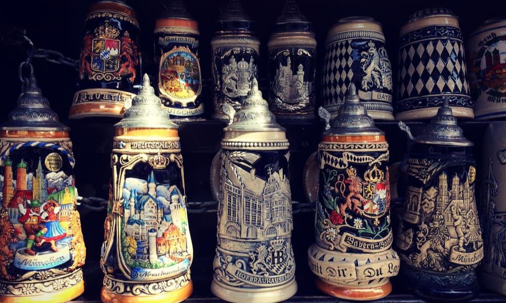 German Beer Stein Types