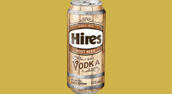Hires Root Beer (and Vodka)