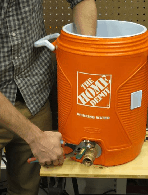 How to Build Your Own Home-Brewing Mash Tun
