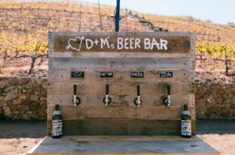 How to Build a Craft Beer Bar for Weddings