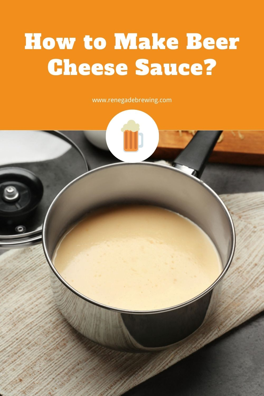How to Make Beer Cheese Sauce 1