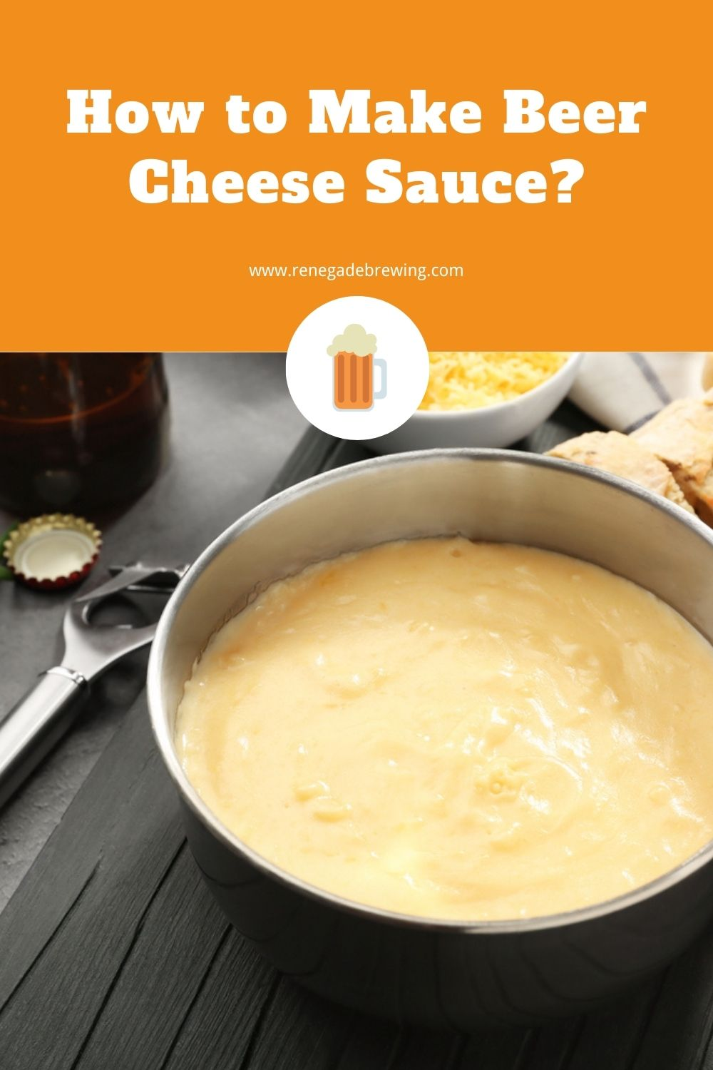 How to Make Beer Cheese Sauce 2