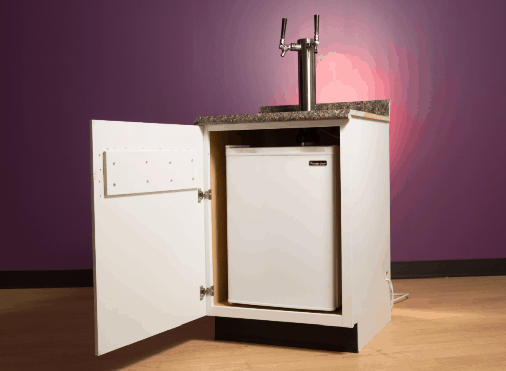How to build your own kegerator and install it in your countertop