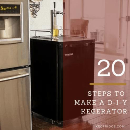 How to make a DIY Kegerator