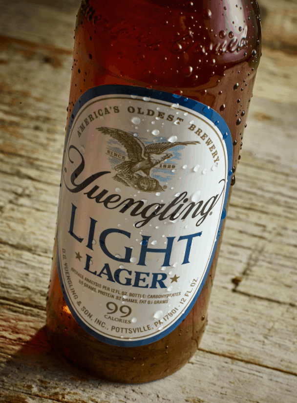 In Yuengling Light