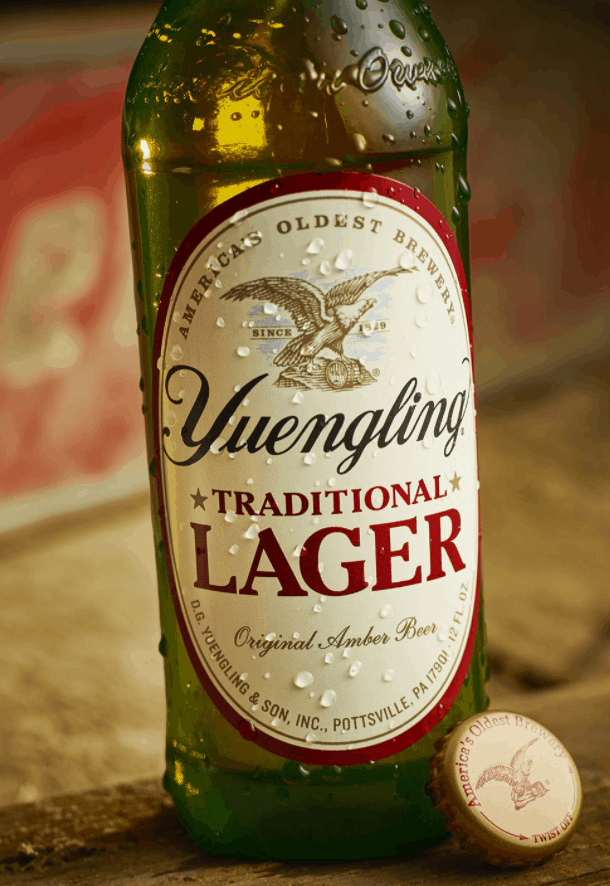 In Yuengling Traditional