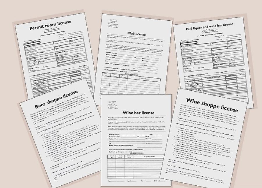 License Categories