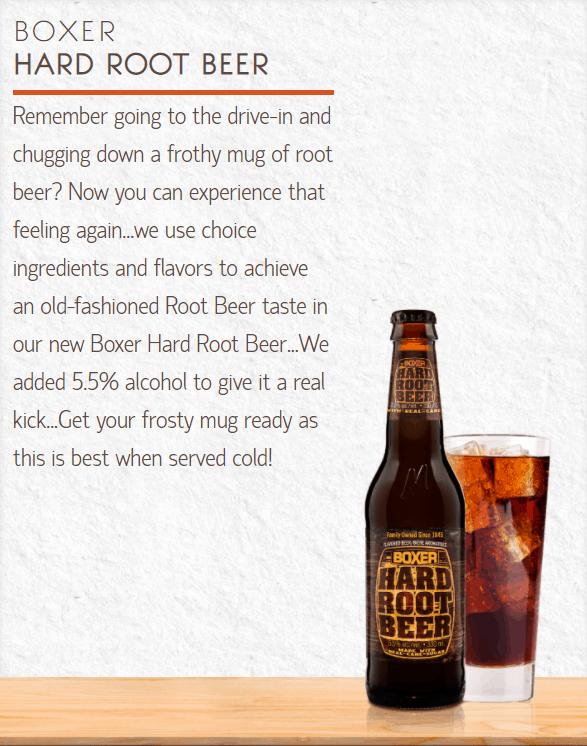 Minhas Boxer Hard Root Beer