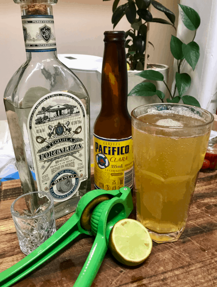 Mix your beer with Tequila