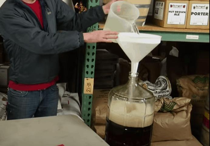 Prepare the wort for fermentation