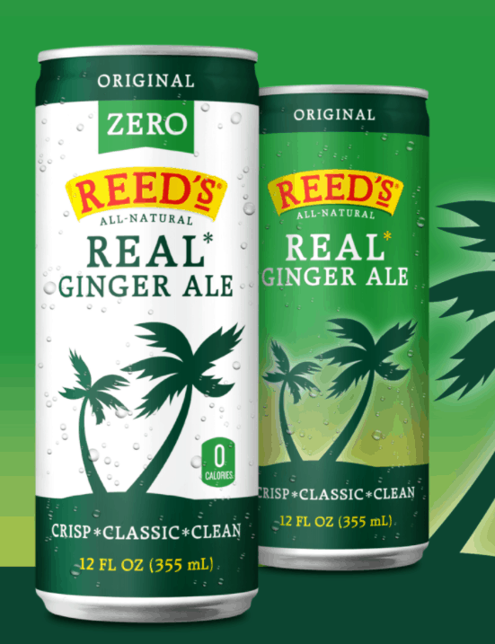 Reed's Zero Extra Ginger Beer