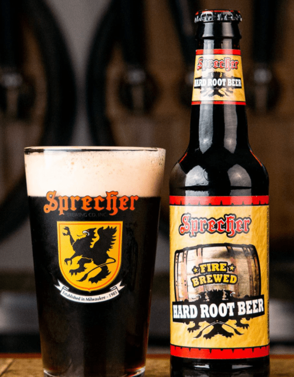 Sprecher Fire Brewed Hard Root Beer