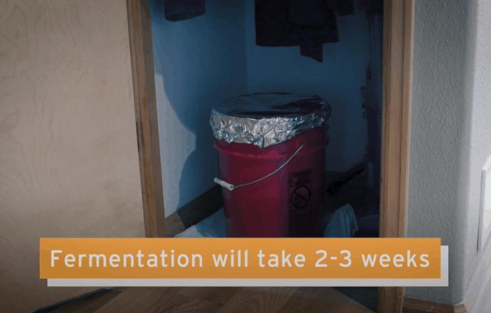 Store the Wort for Fermentation