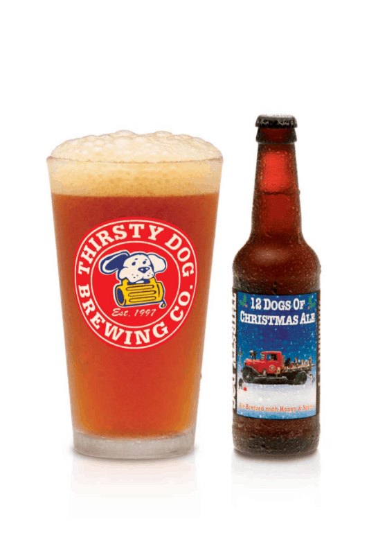 Thirsty Dogs Brewing 12 Dogs of Christmas Ale