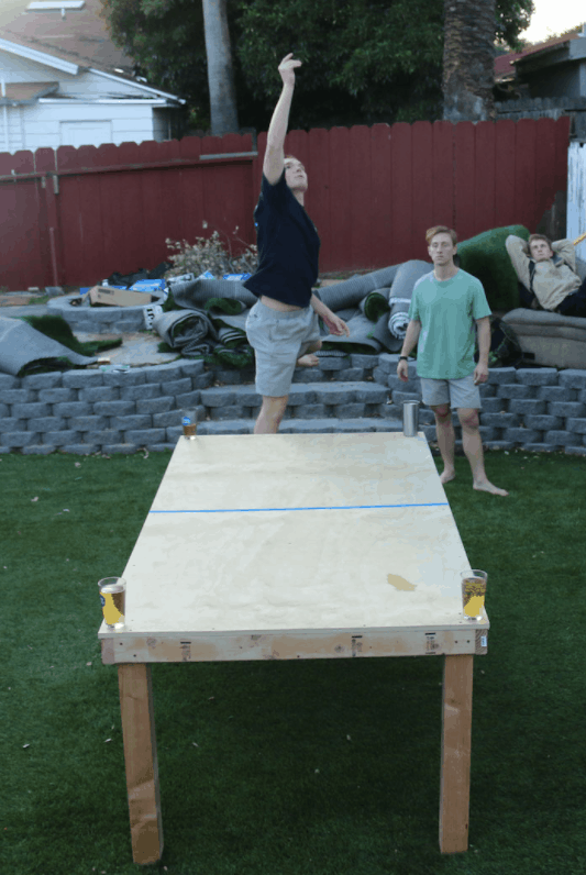 WANT TO BE BUILD A BEER DIE TABLE HERE'S HOW