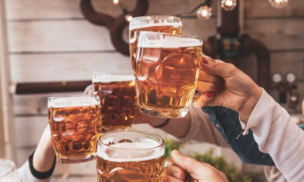 Which are the strongest beers to get drunk fast