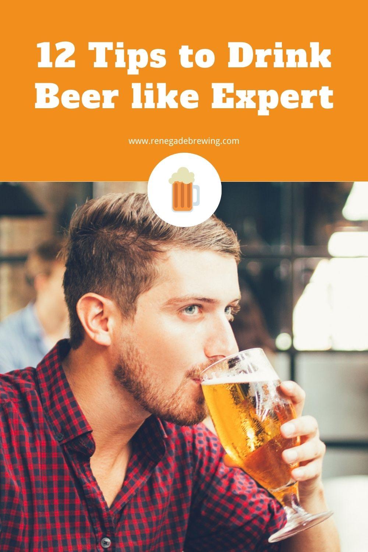 12 Tips to Drink Beer like Expert 1
