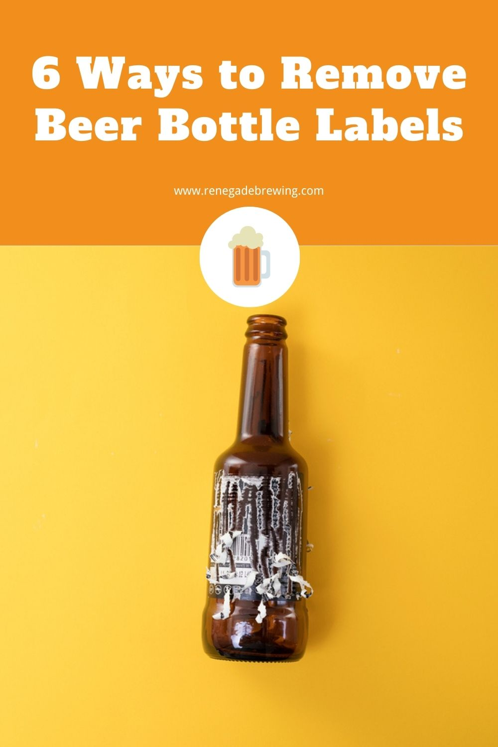 6 Ways to Remove Beer Bottle Labels 1
