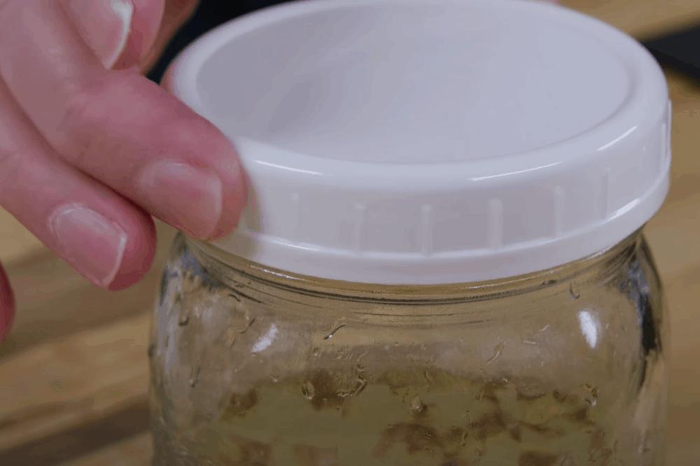 Store the jar away